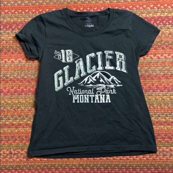 American Threads Tops - GLACIER NATIONAL PARK TEE